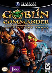 Portada oficial de Goblin Commander: Unleash the Horde para GameCube