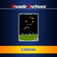 Portada oficial de Arcade Archives: Exerion para PS4