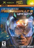 Portada oficial de MechAssault 2: Lone Wolf para Xbox