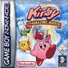 Portada oficial de Kirby: El Laberinto de los Espejos para Game Boy Advance