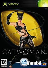 Portada oficial de Catwoman para Xbox