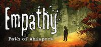 Portada oficial de Empathy: Path of Whispers para PC