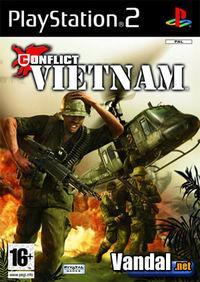 Portada oficial de Conflict: Vietnam para PS2