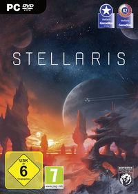 Portada oficial de Stellaris para PC