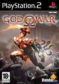 Portada oficial de God of War (2005) para PS2