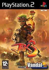Portada oficial de Jak 3 para PS2