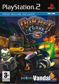 Portada oficial de Ratchet & Clank: Pon tu Arsenal a Tope para PS2