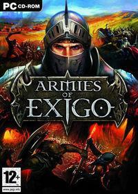 Portada oficial de Armies of Exigo para PC