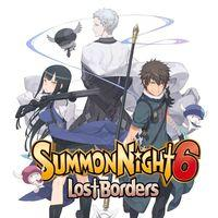 Portada oficial de Summon Night 6: Lost Borders para PS4