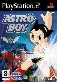 Portada oficial de Astro Boy (2005) para PS2