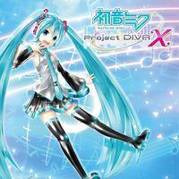 Portada oficial de Hatsune Miku: Project Diva X para PS4