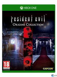 Portada oficial de Resident Evil Origins Collection para Xbox One