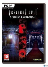 Portada oficial de Resident Evil Origins Collection para PC