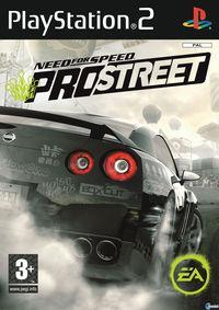 Portada oficial de Need for Speed ProStreet para PS2