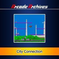 Portada oficial de Arcade Archives: City Connection para PS4