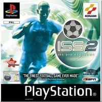 Portada oficial de ISS PRO Evolution 2 para PS One