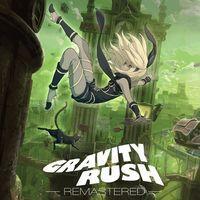 Portada oficial de Gravity Rush Remastered para PS4