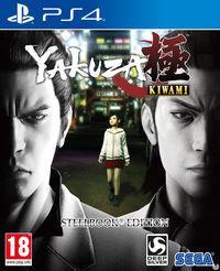 Portada oficial de Yakuza Kiwami para PS4