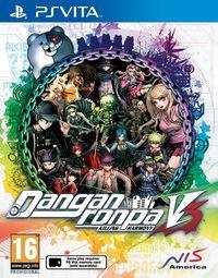 Portada oficial de Danganronpa V3: Killing Harmony para PSVITA