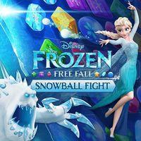Portada oficial de Frozen Free Fall: Batalla de bolas de nieve para PS4