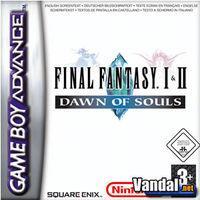 Portada oficial de Final Fantasy I & II: Dawn of Souls para Game Boy Advance