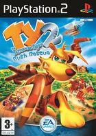 Portada oficial de Ty The Tasmanian Tiger 2 para PS2