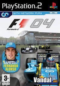 Portada oficial de Formula One 2004 para PS2