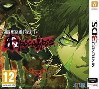Portada oficial de Shin Megami Tensei IV: Apocalypse para Nintendo 3DS