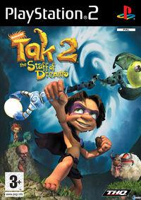 Portada oficial de Tak 2: The Staff of Dreams para PS2