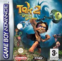 Portada oficial de Tak 2: The Staff of Dreams para Game Boy Advance
