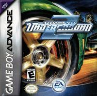 Portada oficial de Need for Speed Underground 2 para Game Boy Advance