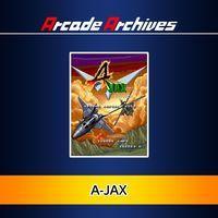 Portada oficial de Arcade Archives: A-JAX para PS4