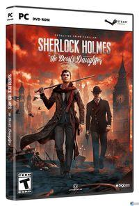 Portada oficial de Sherlock Holmes: The Devil's Daughter para PC