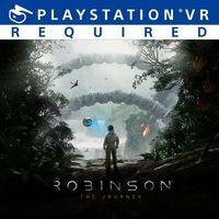 Portada oficial de Robinson: The Journey para PS4
