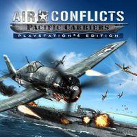 Portada oficial de Air Conflicts: Pacific Carriers para PS4