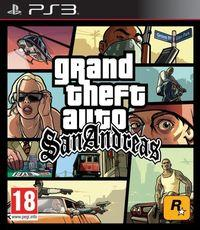 Portada oficial de Grand Theft Auto: San Andreas para PS3