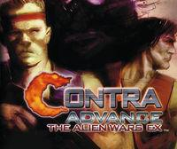 Portada oficial de Contra Advance The Alien Wars Ex CV para Wii U