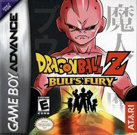 Portada oficial de Dragon Ball Z: Buu's Fury para Game Boy Advance