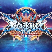 Portada oficial de BlazBlue Central Fiction para PS4
