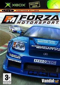 Portada oficial de Forza Motorsport para Xbox
