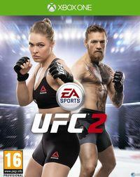 Portada oficial de EA Sports UFC 2 para Xbox One