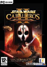 Portada oficial de Star Wars: Caballeros de la Antigua República 2 para PC