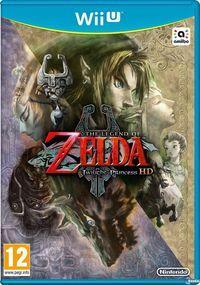 Portada oficial de The Legend of Zelda: Twilight Princess HD para Wii U