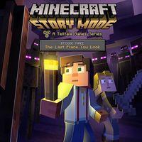 Portada oficial de Minecraft: Story Mode - Episode 3: The Last Place You Look para PS4