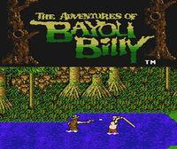 Portada oficial de The Adventures of Bayou Billy CV para Wii U