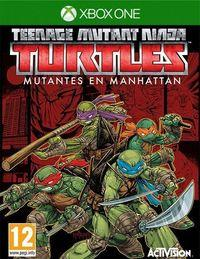 Portada oficial de Teenage Mutant Ninja Turtles: Mutants in Manhattan para Xbox One
