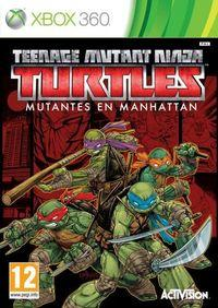 Portada oficial de Teenage Mutant Ninja Turtles: Mutants in Manhattan para Xbox 360
