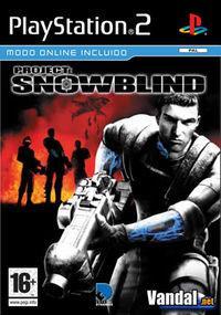 Portada oficial de Project: Snowblind para PS2