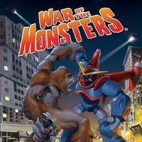 Portada oficial de War of the Monsters para PS4