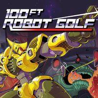 Portada oficial de 100ft Robot Golf para PS4